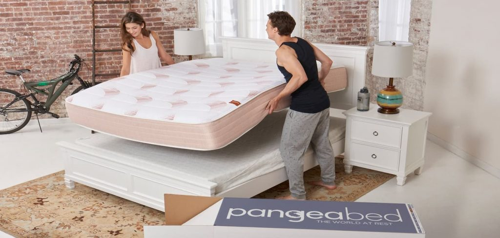 PangeaBed Latex and Memory Foam Mattress