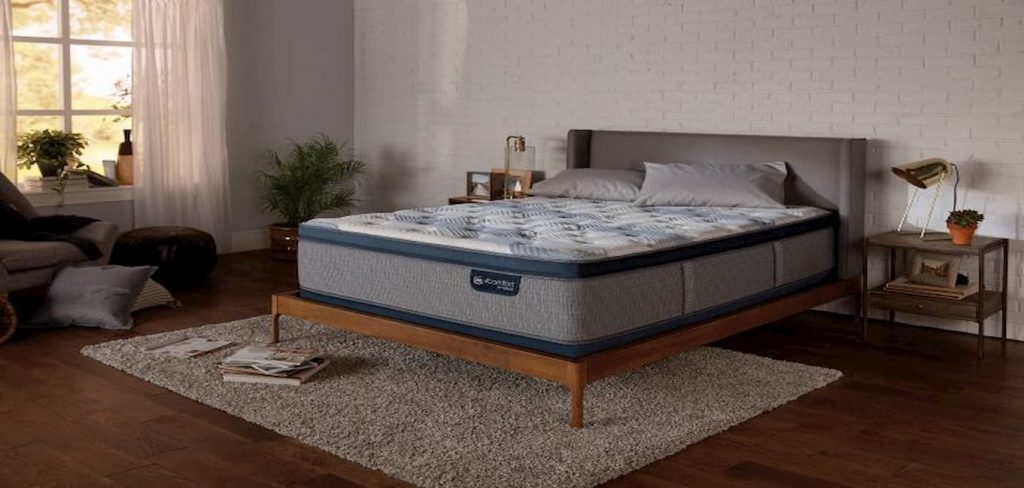 Serta iComfort Blue Fusion 300 Plush Pillow Top Hybrid Mattress