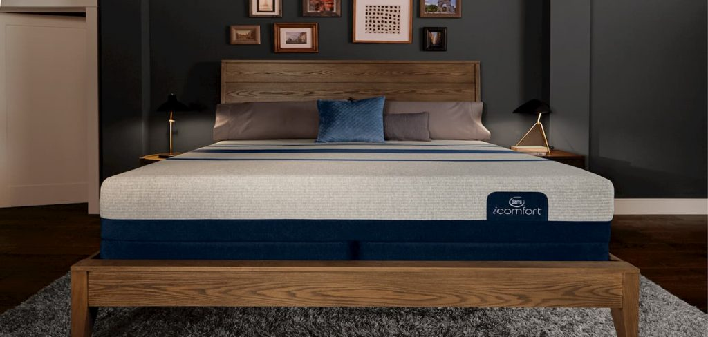Serta iComfort Blue Max 3000 Elite Plush Memory Foam Mattress