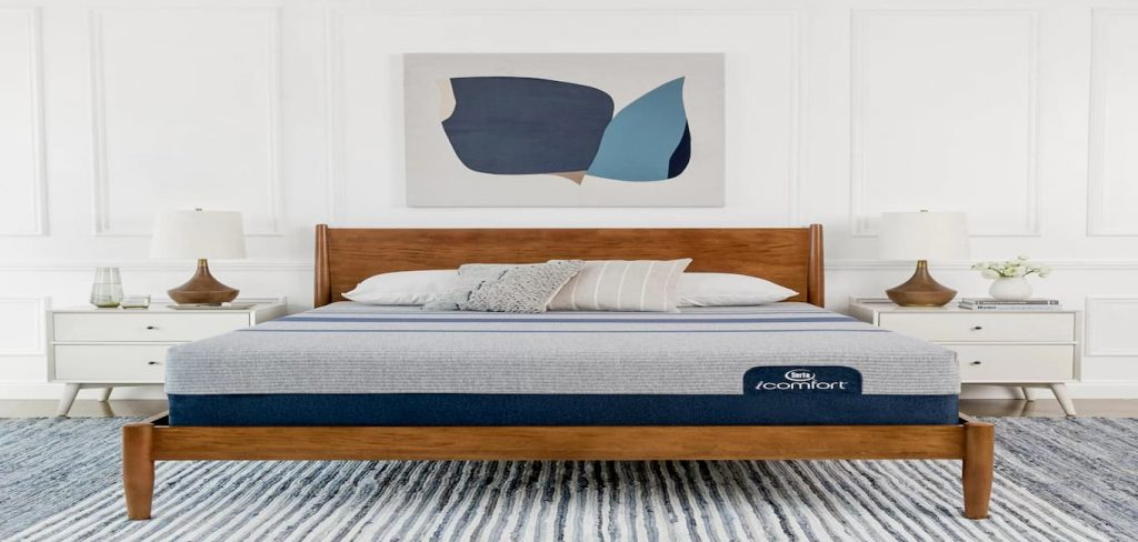 Serta iComfort Blue Max 1000 Plush Memory Foam Mattress