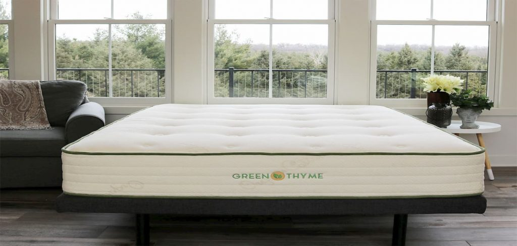 Green Thyme 2-Sided Plush-Top Latex Hybrid Mattress