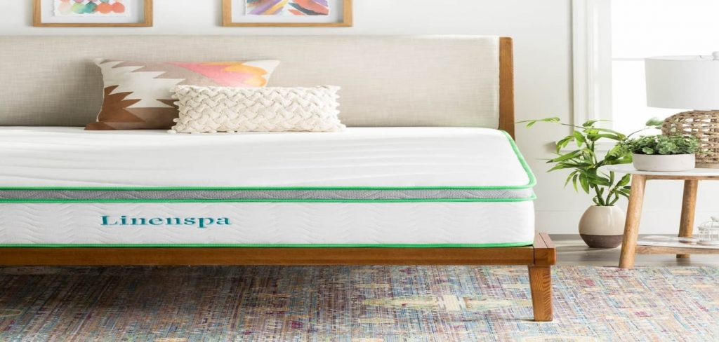 Linenspa 10-Inch Latex Hybrid Mattress