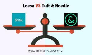 leesa-mattress- vs-tuft-and- needle-comparison-image